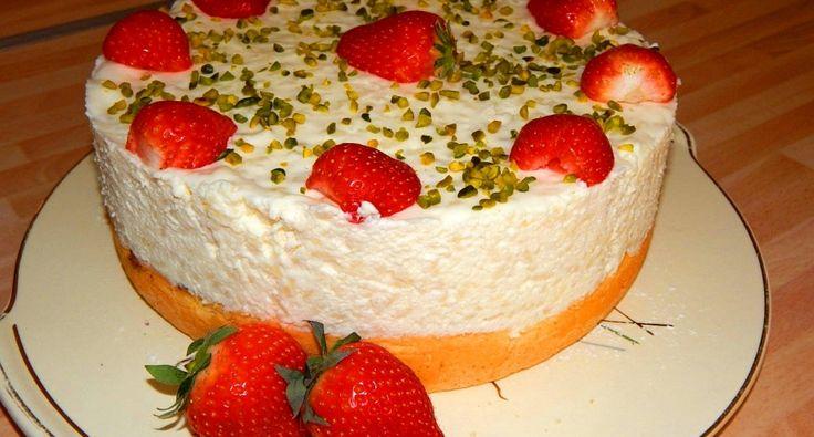 Tejszínes tejberizs torta recept