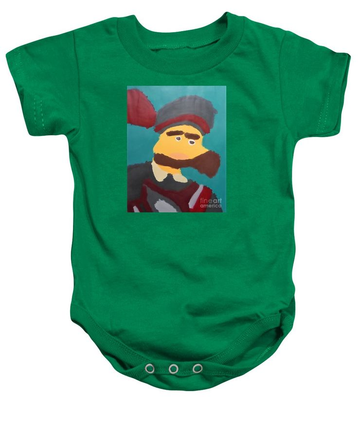 Patrick Baby Onesie featuring the painting The Emperor Charles V 2014 - After Peter Paul Rubens by Patrick Francis