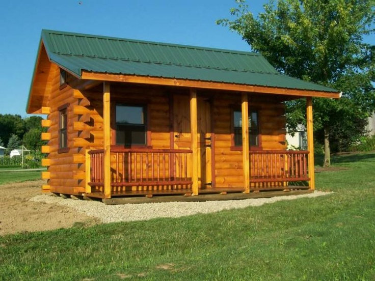 10 best my get away images on pinterest tiny cabins for Cheap log houses