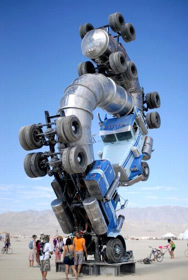 The Best Trucking Companies That Hire Ex-Felons - http://snydertrucking.org/the-best-trucking-companies-that-hire-felons/ - http://snydertrucking.org/wp-content/uploads/2012/09/eye-catching-sculpture.jpg