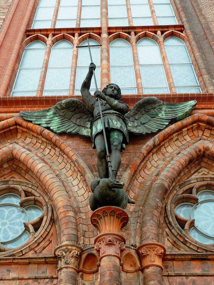 St Michael by teetotally on deviantART
