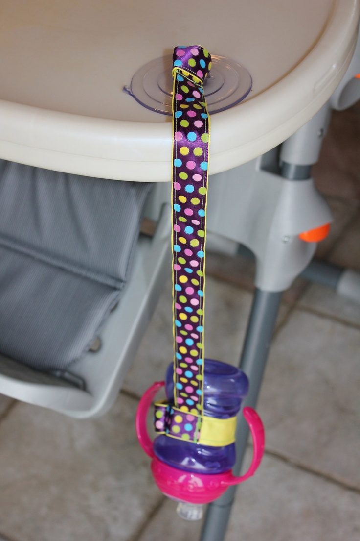 Sippy Strap. So smart!!