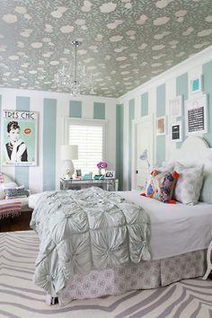 Mint Bedroom | Pinned PeachSkinSheets U003c3