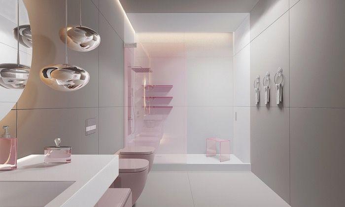 Coole Und Praktische Badezimmer Ideen Und Bilder In 2020 Modernes Badezimmer Badezimmer Design Modernes Luxurioses Badezimmer
