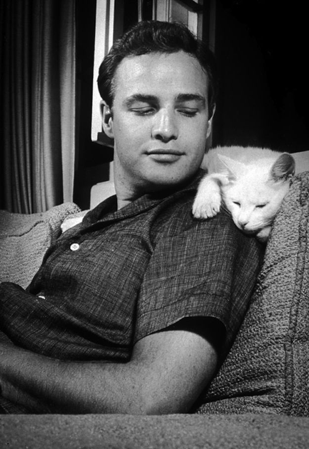 buzzfeed gives us a ton of reasons why marlon brando was the perfect man. and i agree with every. damn. one.