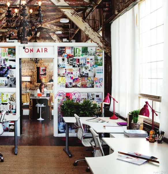 Wonderful Eclectic Office Space
