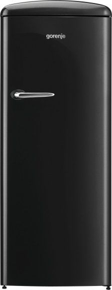 Gorenje ORB153BK - Retro jääkaappi pakestelokerolla, musta – Vapaasti sijoitettavat – Jääkaapit – Kylmälaitteet – Kodinkoneet – Verkkokauppa.com