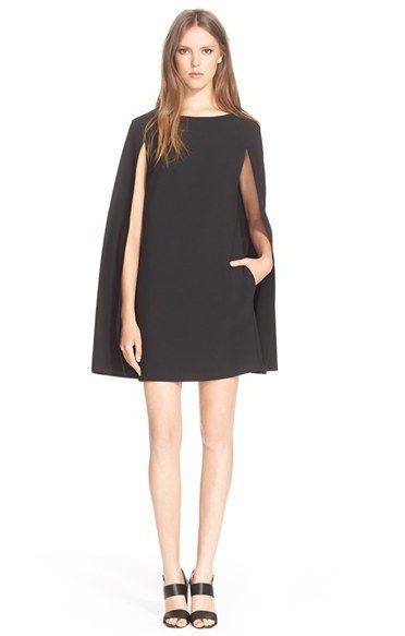 Trina Turk 'Gizela' Cape Back Dress