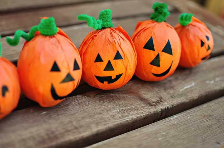 Decorative pumpkins -- you won't believe what they're made of!