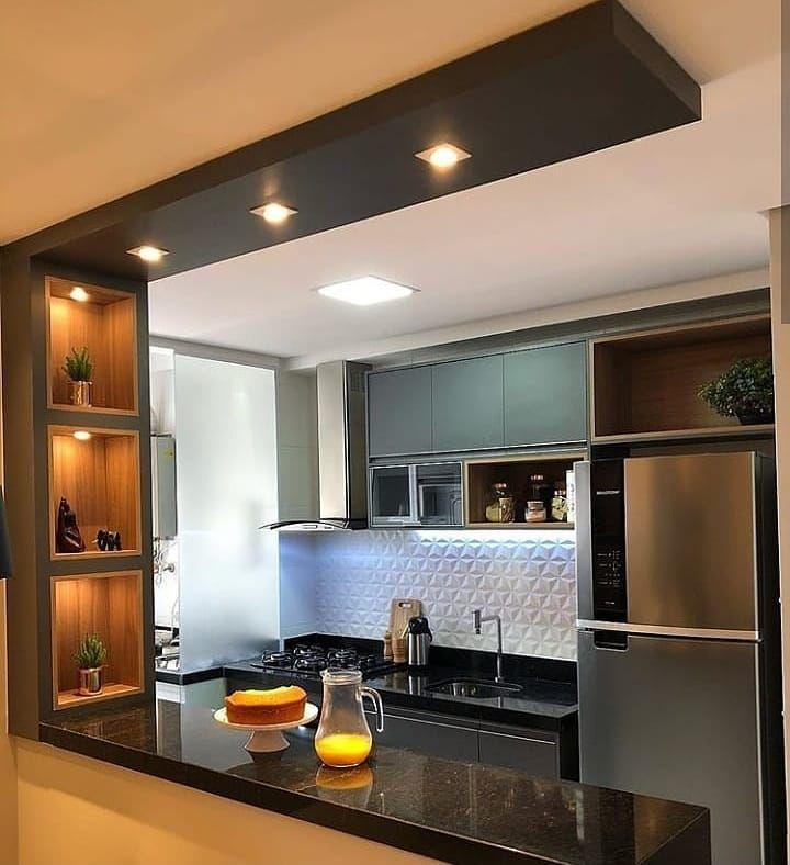 Ideas Que Enamoran Cocinas Cocinasmodernas Construccion Remodel Remodelacion De Cocinas Remodelacion De Cocina Pequena Diseno De Interiores De Cocina