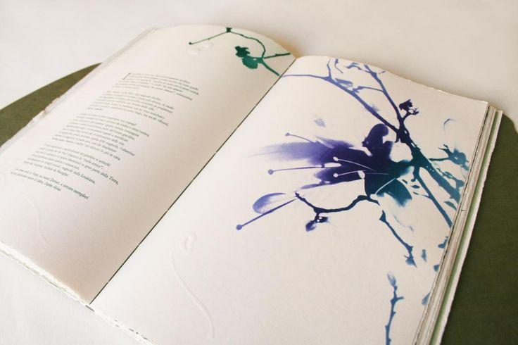 Alessandra Angelini Il giardino è aperto, 2015 libro d'artista f