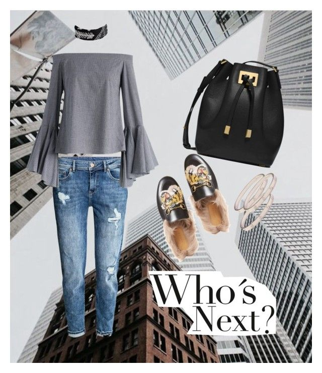 """Who's next?"" by ann-kim-1 on Polyvore featuring H&M, Chicwish, Michael Kors, Gucci, Fallon and Cartier"