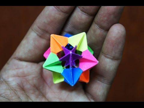 Modular Origami - How to make Modular Star Sphere Origami 1.0 (Reuploaded)