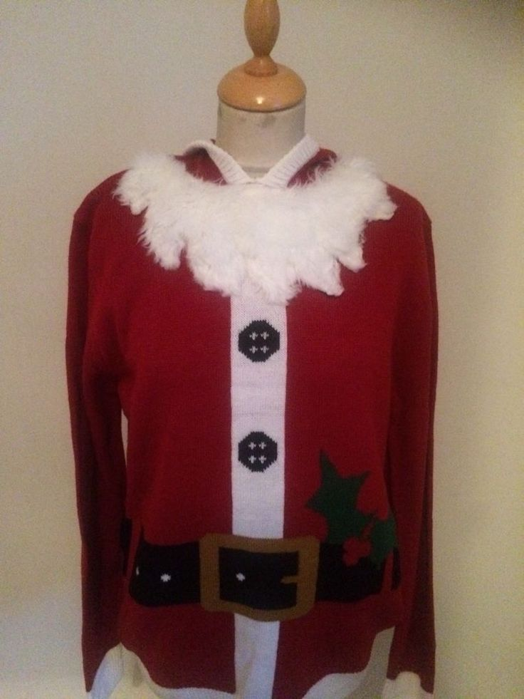 Mens Father  Christmas   JUMPER SIZE L #TU #Jumpers