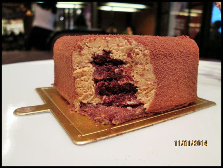 NuteLLa Cake at Djournal Cafe