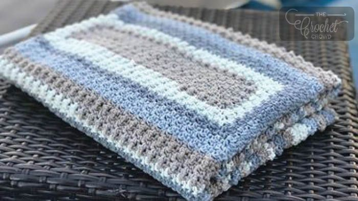 Crochet Extra Lemon Rectangle Blanket + Tutorial | Projects: Crochet