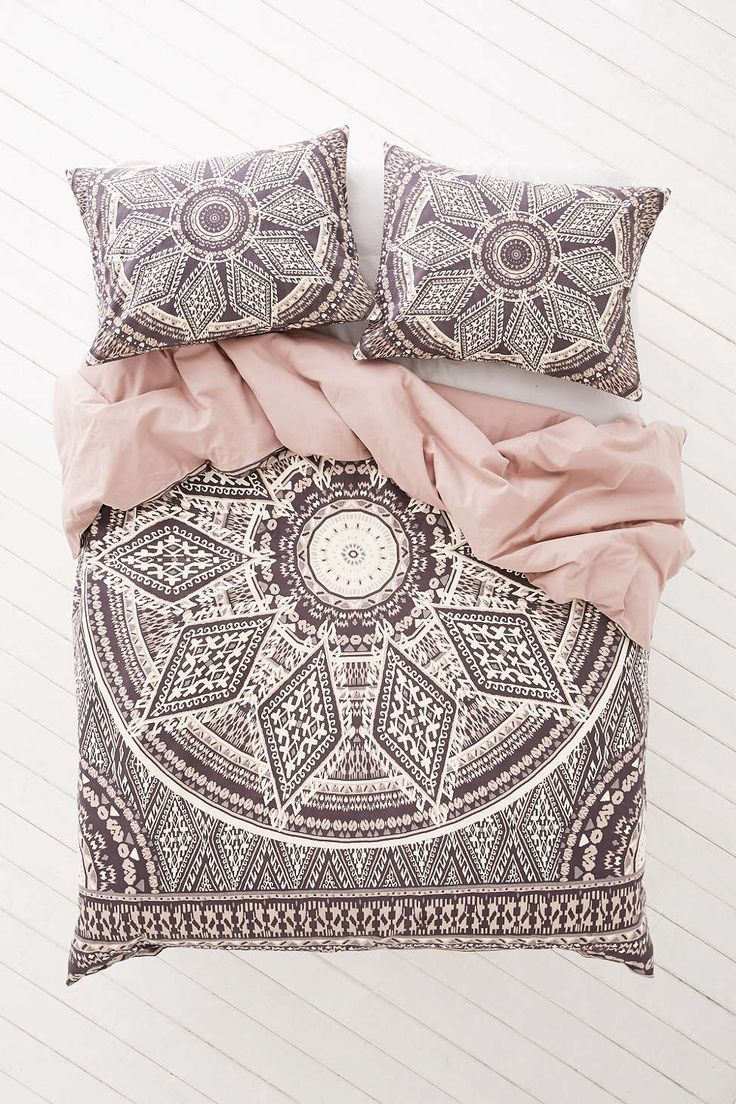 Magical Thinking Petra Geo Medallion Duvet Cover