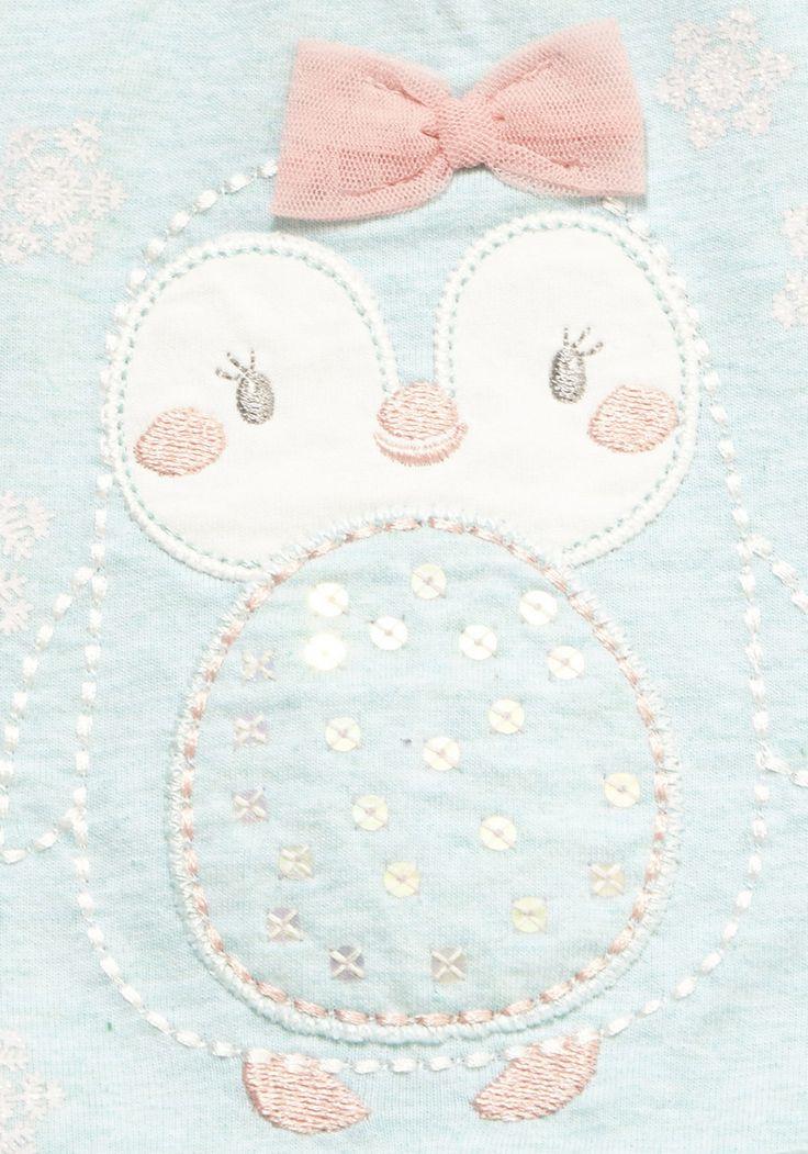 Clothing at Tesco | F&F Penguin Snowflake Long Sleeve T-Shirt > tops > Newborn > Baby