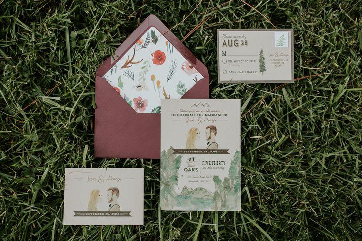 cutesy animated wedding invitations| Image by Vic Bonvicini