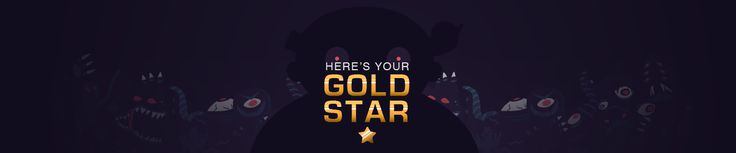 Here's Your Gold Star on Behance