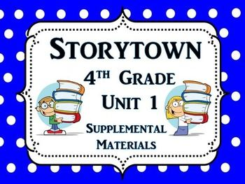 9 best storytown images on pinterest fourth grade early finishers storytown 4th grade this bundle contains a variety of activities from each lesson of theme fandeluxe Image collections