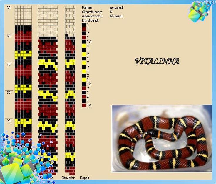 Crochet Ropes, Бисера Змея