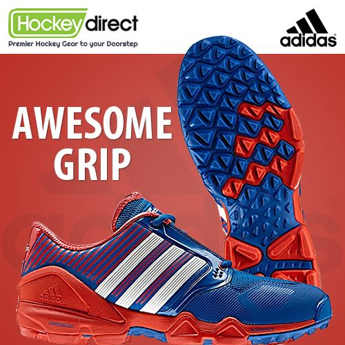 The sensational #Adidas Adipower #Hockey Shoe has been developed in conjunction with the world's top players, and is built for ultimate grip, speed power on turf. #Hockey Direct.