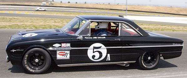 1963 Ford Falcon Sprint, driven by Jim Taylor in two 1966 Trans Am series races.