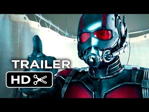 Ant-Man Official Teaser Trailer #1 (2015) - Paul Rudd Marvel Movie HD - YouTube | I am very excited for this movie!! It's a little humorous and I love that because Ant Man is very serious.... :D