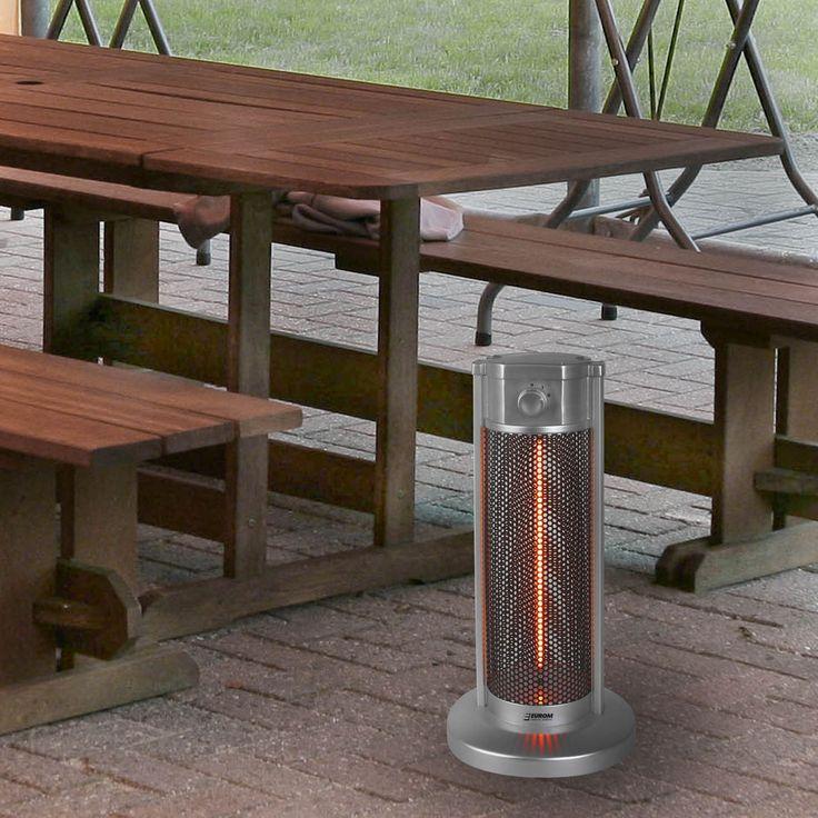 Infrarot Karbon Heizstrahler 900W Tischheizung Party Bistro Tisch Wärmestrahler