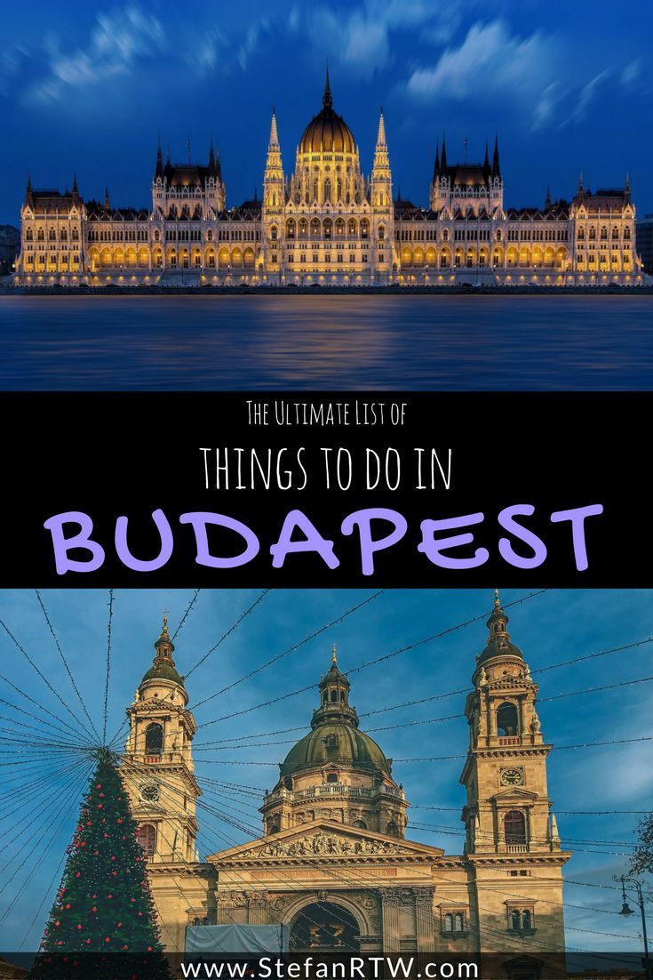 Looking for things to do in Budapest? Then you'll want to check out this awesome guide. Budapest is a great budget travel destination, and it's full of so many different things to do and see. This guide covers everything you'll want to know about Budapest travel tips, places to explore, the top tourist attractions, and much more! Click to read my in-depth Budapest travel guide!