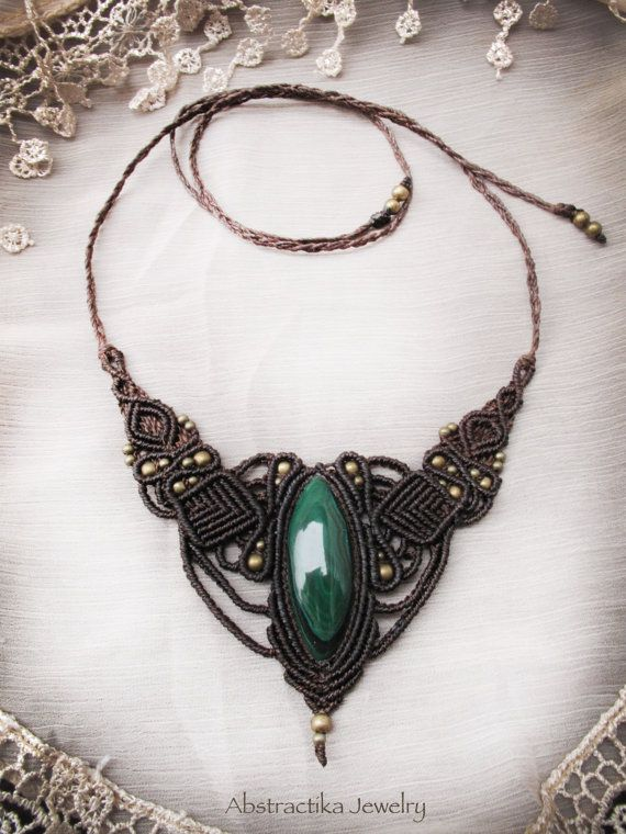 Malachite Jewelry Rings