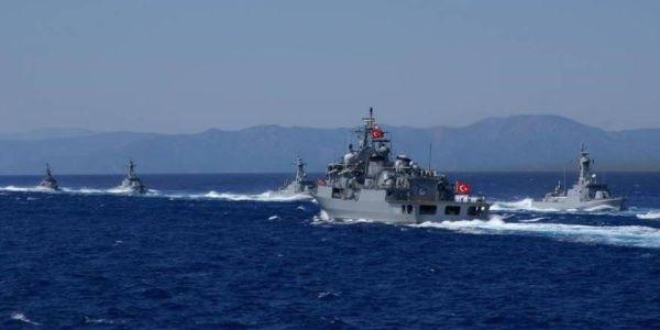 Αρμάδα στέλνει η Άγκυρα μεταξύ Ελλάδας και Κύπρου - Τούρκος Αρχηγός ΓΕΝ: Θα υπερασπιστούμε την τουρκική κυριαρχία