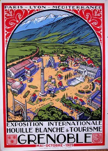 Grenoble ~ Rhône-Alpes _______________________________ Chemins de Fer de Paris à Lyon et à la Méditerranée