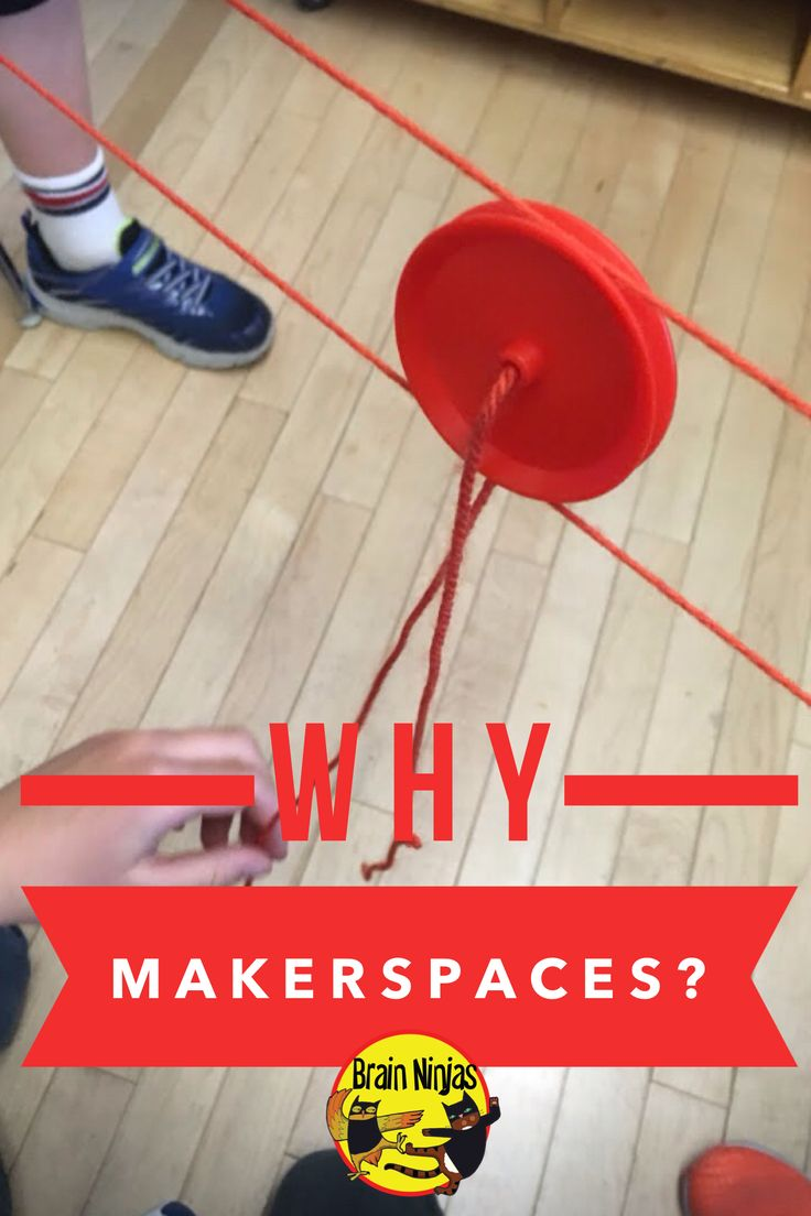 Why should you have a makerspace? Read to find out!