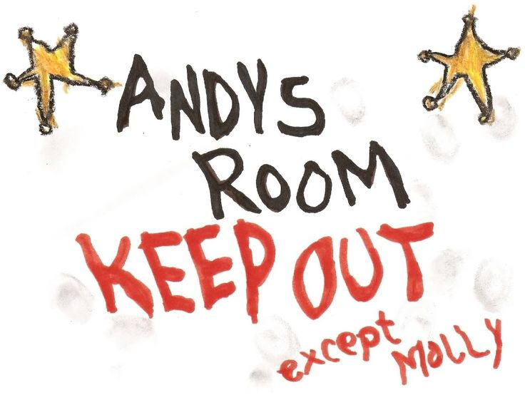 Pixar Planet • View topic - Andy's Room Drawings