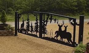 Want Nice Gates? We can arrange this !