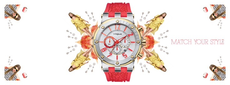 VOGUE Watches! Collection Spring/Summer 2013!!!   Δείτε ολόκληρη τη συλλογή VOGUE εδω: http://www.oroloi.gr/index.php?cPath=489