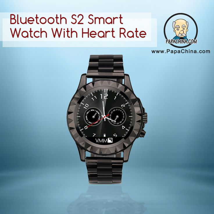 A quality promotional item such as Bluetooth S2 Smart Watch With Heart Rate with its ability to be used as tracking fitness and boasting features like passometer, bluetooth sync function, remote notifier, remote capture function, pedometer, sleep monitor, sedentary reminder, built in 0.3M pixels camera, anti-lost alarm, heart monitor, BBT function, automatic on/off, wake-up gesture, alarm, built-in microphone lets your customers know that your company sets quality as a priority.