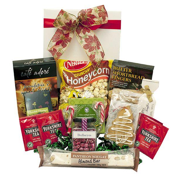 Christmas Tea & Bikkie Hamper - $79 delivered! Found here: http://www.rainbowdesigns.com.au/products/christmas-tea-and-bikkies