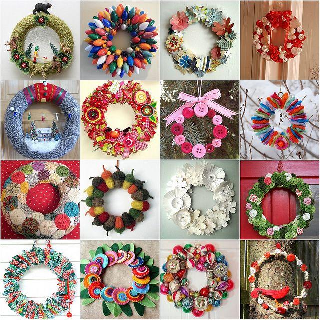"Flickr inspiration ""wreaths"" by dutch blue, via Flickr"