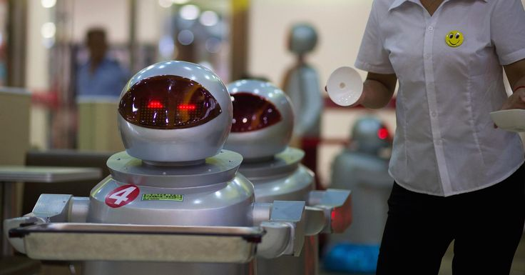 Don't fear the robots, tech creates jobs: Report (CNBC). Those modern day luddites complaining that technology is taking people's jobs may have to eat their hat.