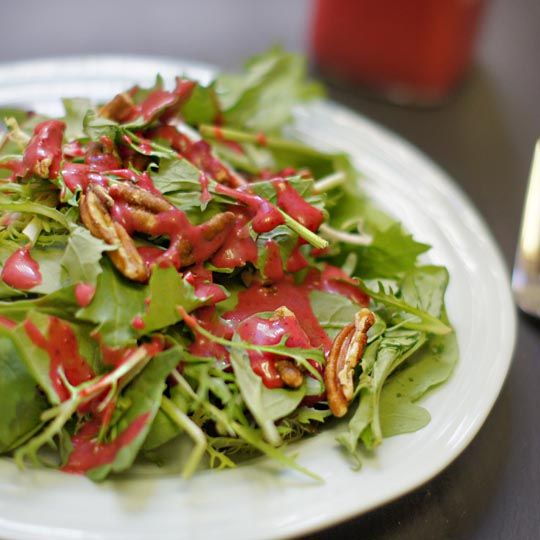 Leftover Cranberry Salad Dressing | Detoxinista - loved it not too sweet, works well to use an immersion blender