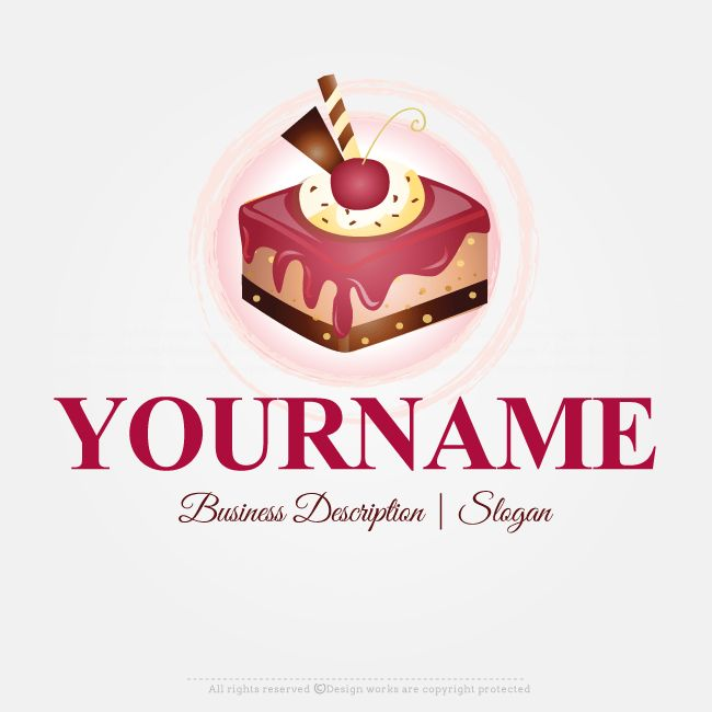 Cake Design Generator : 37 best Wonderful Restaurant Logo Designs Collection ...