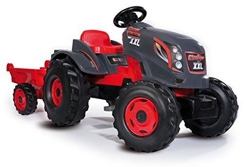 Stronger Ajustable Xxl Siège 710200 Tracteur Smoby Remorque 6yf7bg