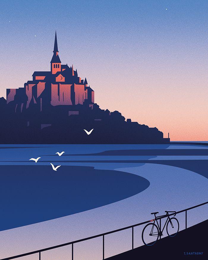 Douce France - Thomas Danthony Illustration