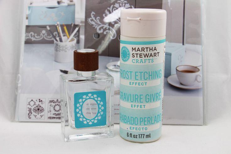 Etching Farbe Martha stewart, Glasgravur, Malwerkzeuge