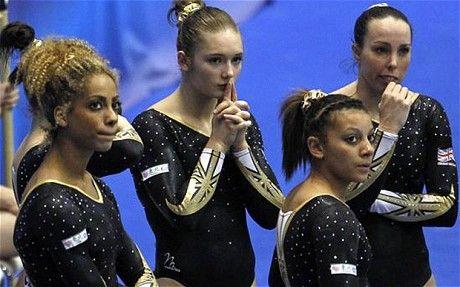 British women's gymnastics team - London 2012 Olympics British women's gymnastics team qualify for Games with final spot at World Championships