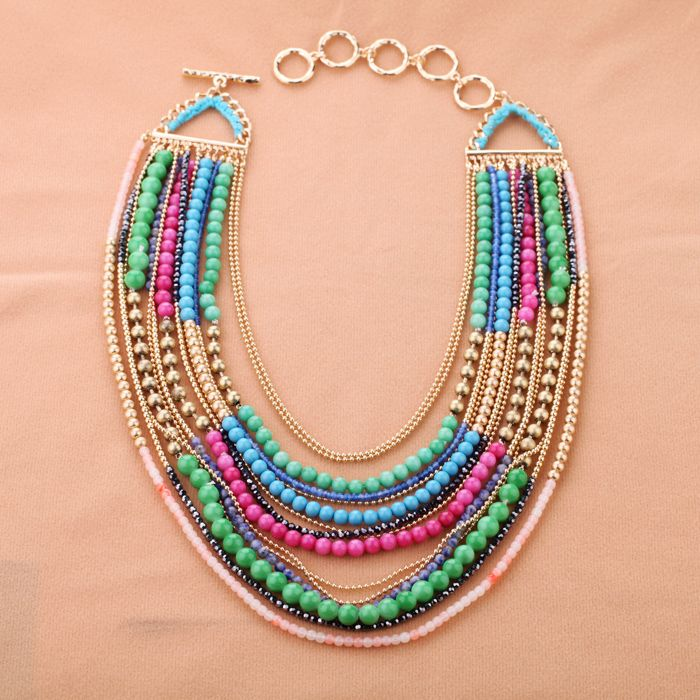 Nice MultiLayers Chain Necklace Read More:   http://www.ownjewelry.com/nice-multilayers-chain-necklace.html