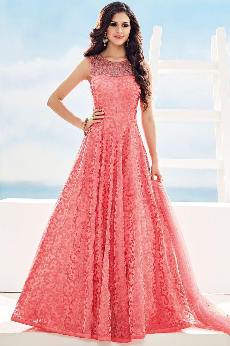 Mejores 29 imágenes de Gowns en Pinterest | Anarkali, Vestidos de ...